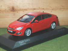 Minichamps Opel Astra Saloon / Vauxhall Astra 4 Door in Red 2012 1/43rd Scale