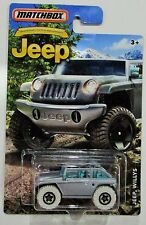 Matchbox 2016 75th anniversary edition jeep willys silver htf