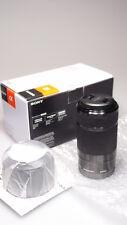 SONY E 55-210mm F4.5-6.3 OSS BLACK ZOOM LENS SEL55210 L@@K
