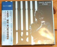 David Bowie Stage EMI 2 Disc double CD JAPAN OBI SEALED DIGIPACK