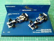 Damon HILL/Jacques VILLENEUVE- MINICHAMPS 402969701 - WILLIAMS RENAULT FW18/FW19