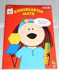 Kindergarten Math Stick Kids Workbook Stickers Time Line Addition Subtraction