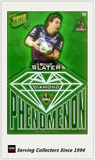 2010 Select NRL Champions Phenomenon Diamond Card P3 Billy Slater