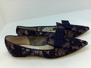JIMMY CHOO Women's Shoes Loafer, Mocassin & Slip-On, Blue, Size 7.5 RFv2