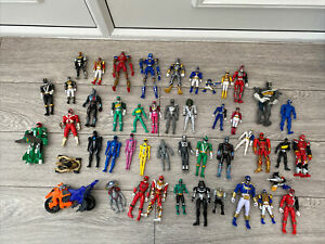 Power Rangers Figures Bundle Inc Dino Charge Movie Baddies More