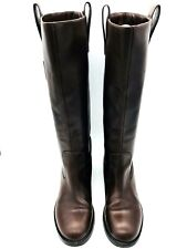 MARC BY MARC JACOBS Womens Brown Leather Knee High Boots UK 5 EU 38