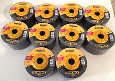 "DEWALT 100-Grinder Wheels 4-1/2"" x 1/4"" x 7/8"" METAL GRINDING WHEELS-DW4541-NEW"