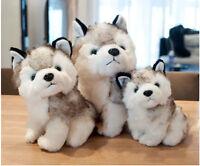 Giant Sitting Husky Puppy Dog Stuffed Animal Plush Toy Doll Soft Toy Kids Gifts