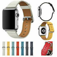 Genuine Leather Band Strap For Apple Watch Series 5 4 3 2 1 42mm 38mm 44mm 40mm