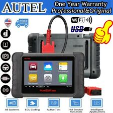 Automotive Autel DS808 Diagnostic Scanner Kit  OBD2 Code Reader IMMO KEY ABS SRS
