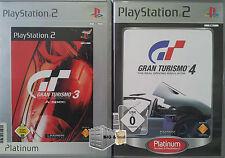 Gran Turismo - Spiele Sammlung PS2 Platinum - GT 3 A-spec + GT 4