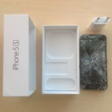 Apple iPhone 5s, space gray, 16GB for parts only, model A1457