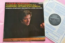 SXL 6840 TCHAIKOVSKY Piano Concerto No.1 Mussorgsky Ashkenazy Maazel Decca NB LP