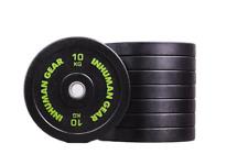1 x 10 kg Pro Bumper Plate Hantel Olympic Bar Crossfit Fitness home gym