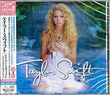 TAYLOR SWIFT-DELUXE EDITION-JAPAN CD+DVD Ltd/Ed G50