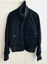 Pepe Jeans Dark Blue Quilted and Padded Bomber Harrington Jacket - size M