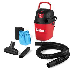 Brand New Hyper Tough 1.5 Gallon 2.0 Peak HP Utility Wet/Dry Vacuum