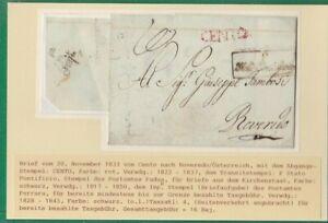 Italien, Pre-Philatelie 4 verschiedene Briefe (B6052)