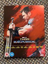 Thor: Ragnarok Blu Ray Steelbook - VGC