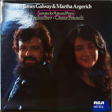 GALWAY & ARGERICH: Sonatas for Flute and Piano-M1975LP UK IMP PROKOFIEV/FRANCK
