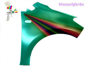 Kotflügel VW UP! Kotflügel in Wunschfarbe Lackiert vorn Rechts + 50 ml Gratis