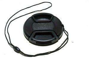 HAMA 58mm Snap-Cap Objektivdeckel mit Innengriff und Sicherungsband (sehr gut)