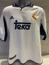 Real Madrid Football Shirt 2000 Xl Figo 10 Adidas Original