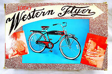 1950 WESTERN FLYER CLASSIC BICYCLE REPLICA DIE CAST MODEL CLASSIC SPRINGER