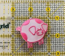 Pink Pig Piglet Iron on Applique/Pig Farm Animals 🐷 Colorful