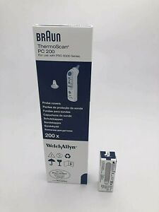 Genuine Braun Thermoscan PC 200 Probe Covers-Welch Allyn