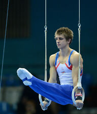 Max Whitlock UNSIGNED photo - 1739 - English gymnast - Rings