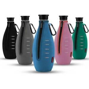 Ciskotu Bruchschutz Neopren Hülle mit Kapazitätsskala für SodaStream Glaskaraffe