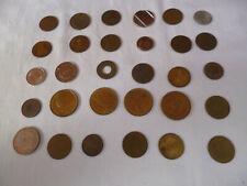 30 Stück alte Token Spielmarke Spielmünze Automatenmarke Automatenmüze Bally u.a