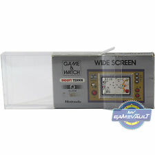 5 Nintendo Game & Watch protectores de pantalla ancha Caja fuerte 0.5mm vitrina del animal doméstico