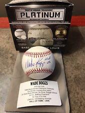Wade Boggs Auto/Signed Boston Red Sox OML Baseball 'HOF '05' TRISTAR #776325