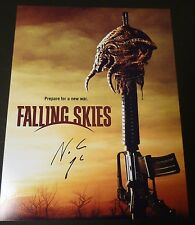 """NOAH WYLE Authentic Hand-Signed """"FALLING SKIES"""" 11X14 Photo"""
