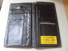 Ancienne pochette noire Pub journal de Mons Le rappel L'écho du centre