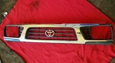 1995 96 97 Toyota Tacoma Upper Grille Chrome Good Clean Condition