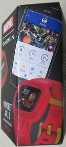 Garmin Vivofit Jr. 3: Marvel - Iron Man Kids Fitness Tracker NEW!!