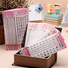 Self Adhesive Glitter Crystals Gems Jewel Stick On Diamante Decor Sticker Random