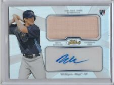 2013 TOPPS FINEST WIL MYERS SAN DIEGO PADRES ROOKIE AUTOGRAPH AUTO BAT RELIC RC