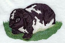 "Lop-Eared Rabbit, Bunny, Hare, Embroidered Patch 5.7""x3.7"""
