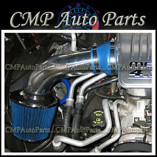 BLUE 2002-2007 DODGE RAM 1500 3.7L V6 4.7L V8 AIR INTAKE KIT INDUCTION SYSTEMS