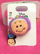 Disney Tokyo Store TDL Tsum Tsum Young Oyster Plush Badge pin NOC - Authentic