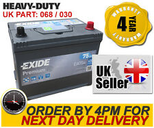 EA754 Exide 030TE Premium Car Battery - UK Type 068 - Next Day Delivery 4 Yr Wty