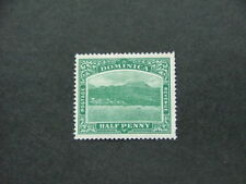 Dominica 1908 1/2d blue-green SG47 MNG