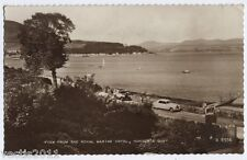 Hunter's Quay, Dunoon, Argyll, Scotland Real Photo Postcard - 1962