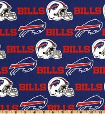 Buffalo Bills 100% COTTON FABRIC 1 Fat Quarter 18x21