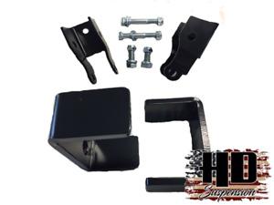 "Chevy Suburban Blazer C10 K5 1973-1991 5"" Drop Flip Kit Shock Extender Lowering"
