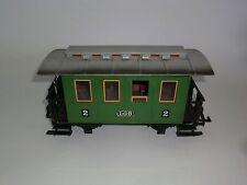 Lehmann LGB Chemins de fer Voiture de tourisme 3010 vert échélle G Classe 2